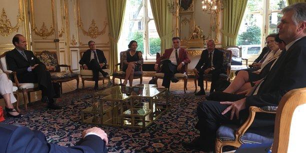 Onze ambassadeurs de France se sont rendus à Bordeaux il y a quelques jours