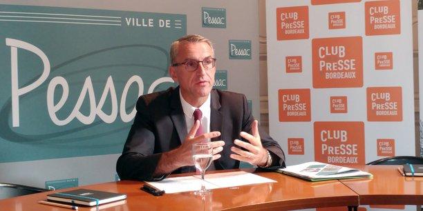 Depuis son élection à la mairie en 2014, Franck Raynal (DVD) a drastiquement réduit le rythme de construction de nouveaux logements à Pessac.