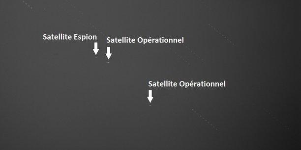 La traque du satellite espion russe Luch-Olymp par GEOTracker