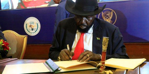 Signature d'un accord de paix au soudan du sud[reuters.com]