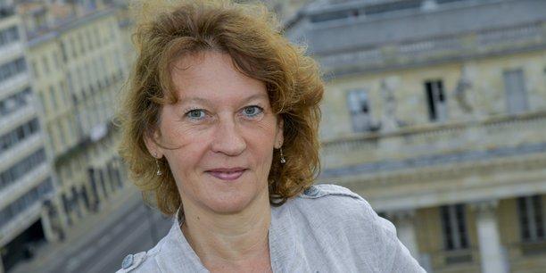 Agnès Passault préside le groupe Aquitem qui emploie 120 salariés en Gironde dans le secteur de la fidélisation client et de l'hébergement de données.