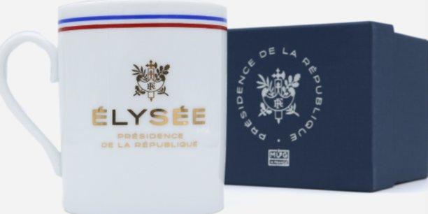 La nouvelle série de mugs est estampillée porcelaine française.