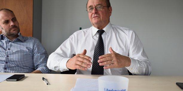 Bernard Leroy, président de la Case et organisateur des Rencontres Entreprendre avec l'Afrique du XXIe siècle à Val-de-Reuil et Louviers