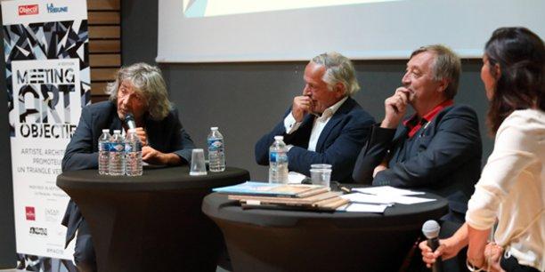 Dialogue entre les architectes R. Ricciotti et F. Fontès, A. Derey de l'ENSAM, modéré par Pascal Cayla (L'Art en direct)
