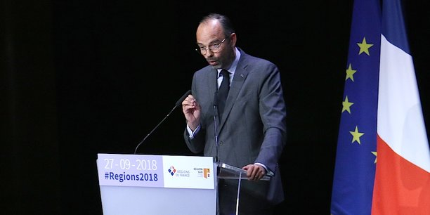 A l'occasion du Congrès des régions qui s'est tenu à Marseille, Edouard Philippe a prôné le dialogue avec les collectivités, tout en maintenant le cap fixé par le gouvernement.