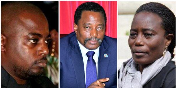 En 2017, des accusations similaires ont été portées contre les autorités congolaises qui avaient tout nié en bloc, expliquant que les entreprises incriminées sont légalement enregistrées sans aucune zone d'ombre. De gauche à droite: Zoé Kabila, Joseph Kabila, Jaynet Kabila.