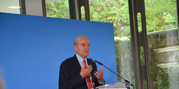 Alain Juppé, président de Bordeaux Métropole et maire de Bordeaux