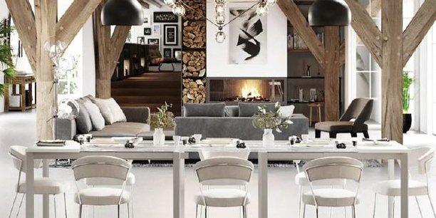 Hubstairs propose gratuitement aux internautes une planche de décoration et une shopping list, et monétise son service avec des offres premium (rendu 3D, entretien téléphonique avec un architecte d'intérieur...)