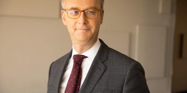Paul de Leusse, à la tête d'Orange Bank depuis octobre 2018, mise sur les synergies des offres de la banque mobile et de l'opérateur télécom Orange.