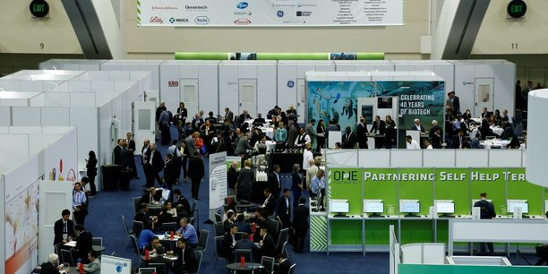 Rendez-vous professionnels lors de la convention BIO de Boston.