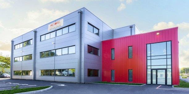 Microtec a inauguré l'extension de son site à Ramonville.
