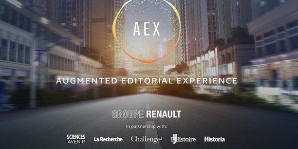 Avec AEX, Renault prépare la riposte aux GAFAS!