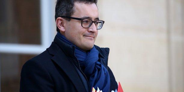Le ministre des Comptes publics Gérald Darmanin.