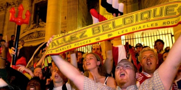 Les supporters belges Copyright AFP