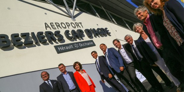 L'ensemble des partenaires de l'aéroport dévoile sa nouvelle dénomination