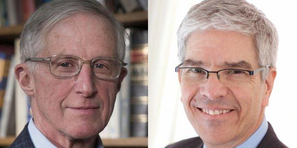 William D. Nordhaus et Paul Romer se partageront le prix de 9 millions de couronnes (environ 860.000 euros).