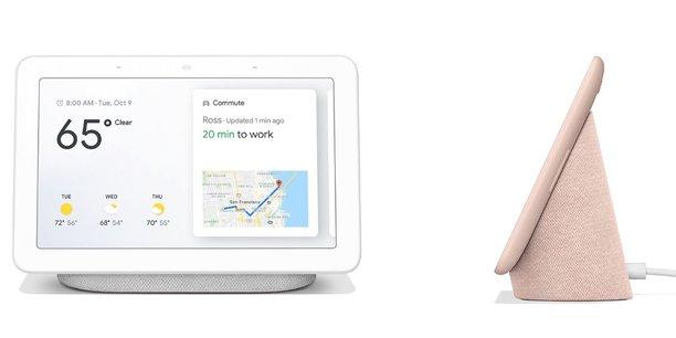 Google a présenté mardi à New York son enceinte connectée hybride, Google Home Hub. Elle sera en vente au prix de 149 dollars.