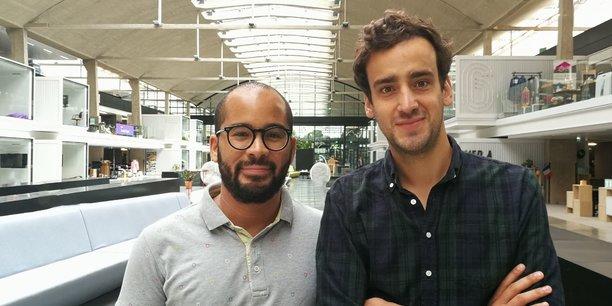 Fabien Akunda et Benoît Raulin, co-fondateurs de la startup Wehome.fr incubée à Station F