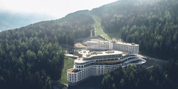 Le nouveau village du Club Med, aux Arcs Panorama, qui ouvre en décembre.
