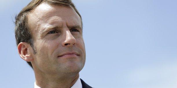 Le chef de l'État Emmanuel Macron et Axel Dauchez, le président de Make.org, ont annoncé le lancement de l'Initiative pour une Démocratie durable.