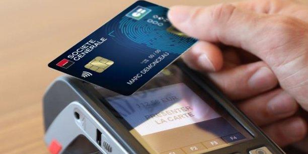 1a457bcfe0f08 La carte bancaire biométrique débarque à la Société Générale