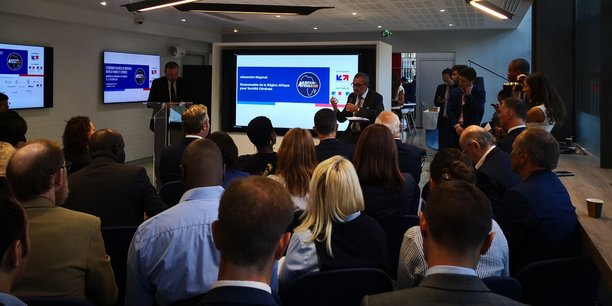 La conférence de presse de présentation d'Ambition Africa s'est déroulée le 11 septembre 2018 dans les locaux de Business France à Paris.