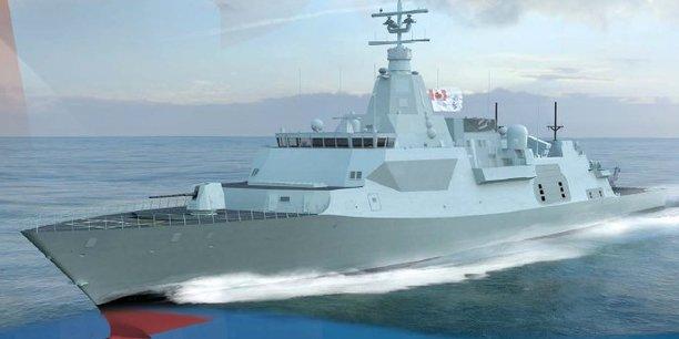 Le Canada a très rapidement balayé une économie de plus de 30 milliards de dollars proposée par Naval Group et Fincantieri et surtout sans l'étudier