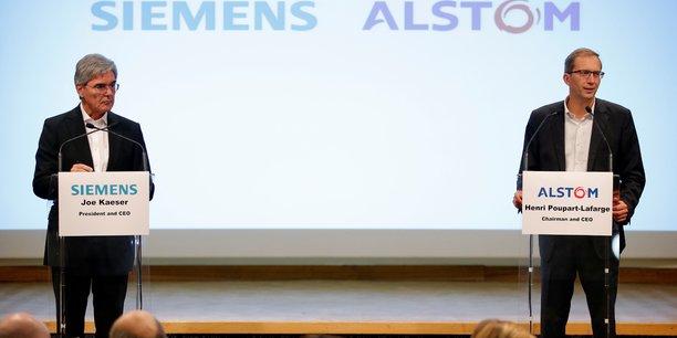Le rapprochement de Siemens et d'Alstom, annoncé le 26 septembre 2017, vise à créer un champion franco-allemand du ferroviaire capable de rivaliser avec le groupe public chinois CRRC et le canadien Bombardier.