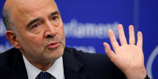 Le commissaire européen Pierre Moscovici appelle à dialoguer avec le gouvernement italien.