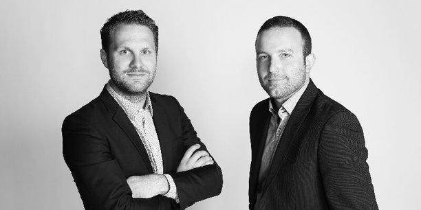 Les deux fondateurs de la société Comerso Pierre-Yves Pasquier (à gauche) et Rémi Gilbert (à droite).