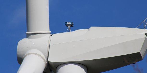 Epsiline parvient à améliorer la productivité de chaque éolienne grâce à un lidar.