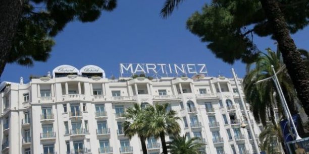 L'hotel Martinez de cannesCopyright Reuters