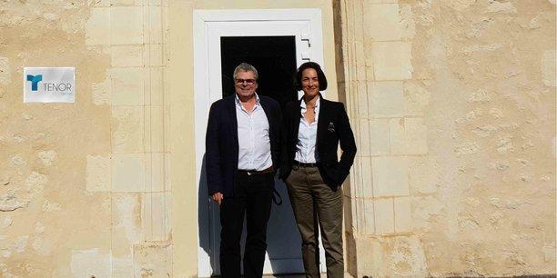 Le bureau bordelais du Groupe Ténor est installé à Bègles. Ici : Vivian Apesteguy, directeur du bureau régional, et Nathalie Robert, directrice communication et Marketing.