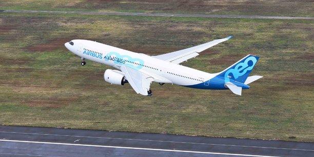 Premier vol d'essai pour l'A330-800 le 6 novembre.