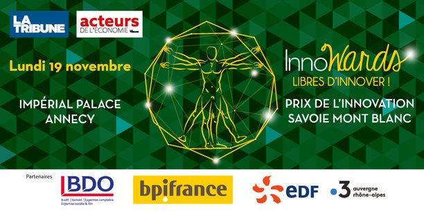 InnoWards Prix de l'innovation Savoie Mont Blanc