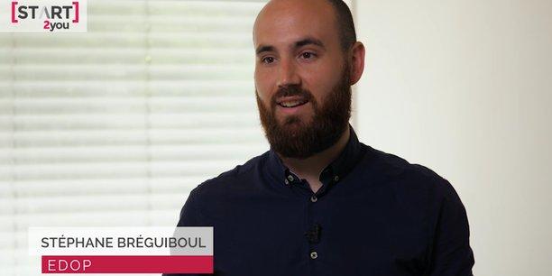 Stéphane Bréguiboul, un des trois cofondateurs de Edop