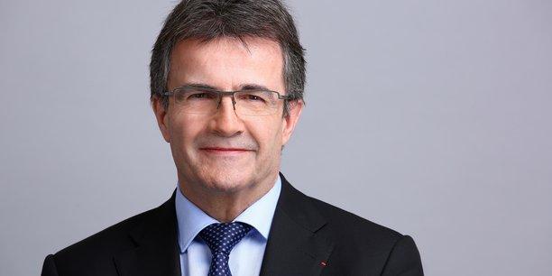 Philippe Brassac, le directeur général de Crédit Agricole S.A., l'entité cotée en Bourse du groupe bancaire mutualiste.