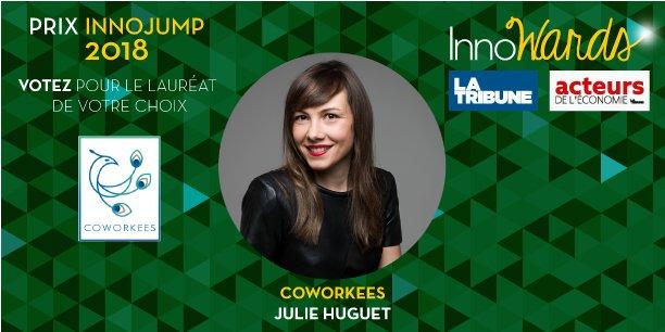 Coworkees, Julie Huguet, candidat au Prix InnoJump