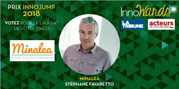 Minalea, Stéphane Favaretto  candidat au Prix InnoJump