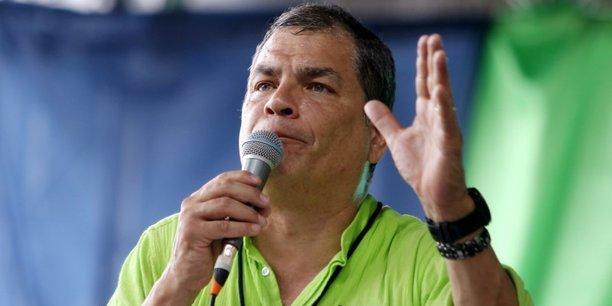 L'ancien president equatorien correa demande l'asile en belgique, rapporte belga[reuters.com]