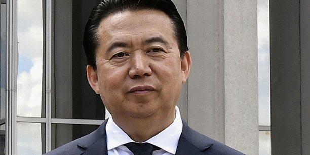 La situation de meng hongwei, affaire interne a la chine, selon interpol[reuters.com]