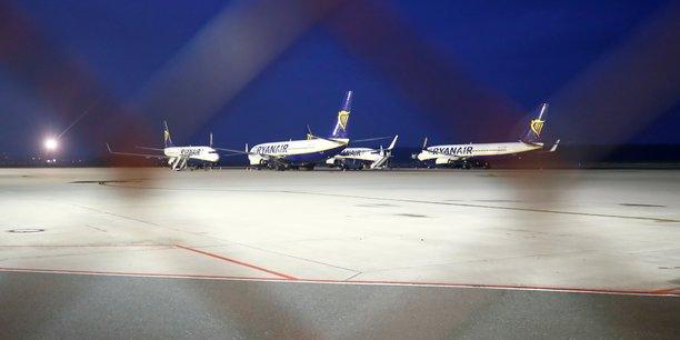 Un avion ryanair saisi a bordeaux pour des aides illegales[reuters.com]