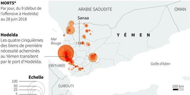Nouvelle offensive lancee contre la ville yemenite d'hodeida[reuters.com]