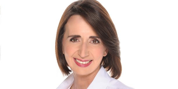 Soazig Mear, directrice de la Transformation du banking chez Diebold Nixdorf.