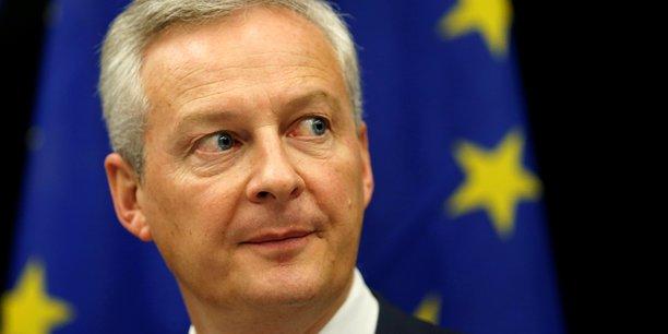 Bruno Le Maire a exhorté ses partenaires européens à prendre leurs responsabilités au sujet de la taxe sur les Gafa.