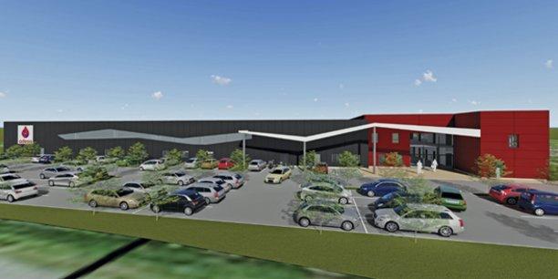 Le projet d'usine d'Adesa, à La Rouvière (30)