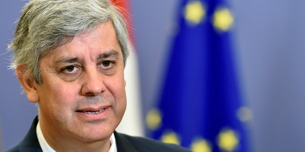 Le président de l'Eurogroupe, Mario Centeno.
