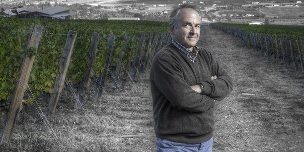 Alain Sutre, dirigeant d'Ertus Group qui combine activité de conseil pour le monde viticole et édition de logiciels