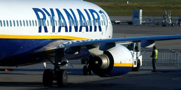 Ryanair dans le rouge au troisième trimestre de son exercice