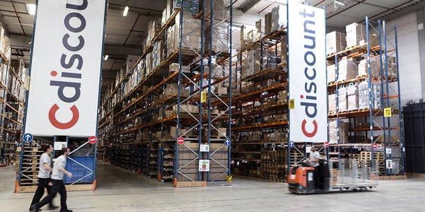 Cdiscount opère à partir de 500.000 m2 d'entrepôts répartis sur trois pôles logistiques. Ici, celui de Cestas près de Bordeaux